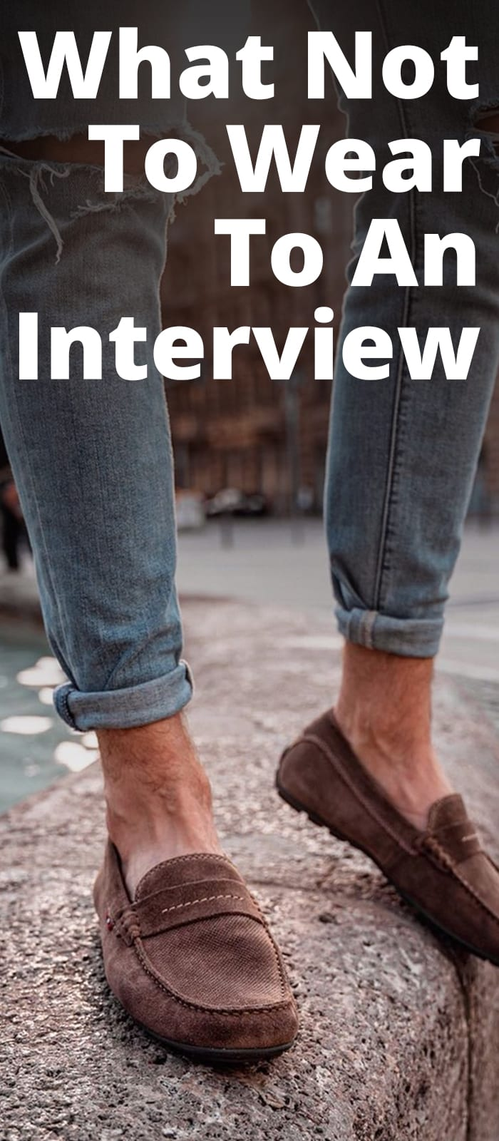 10 Things to Avoid Wearing to an Interview