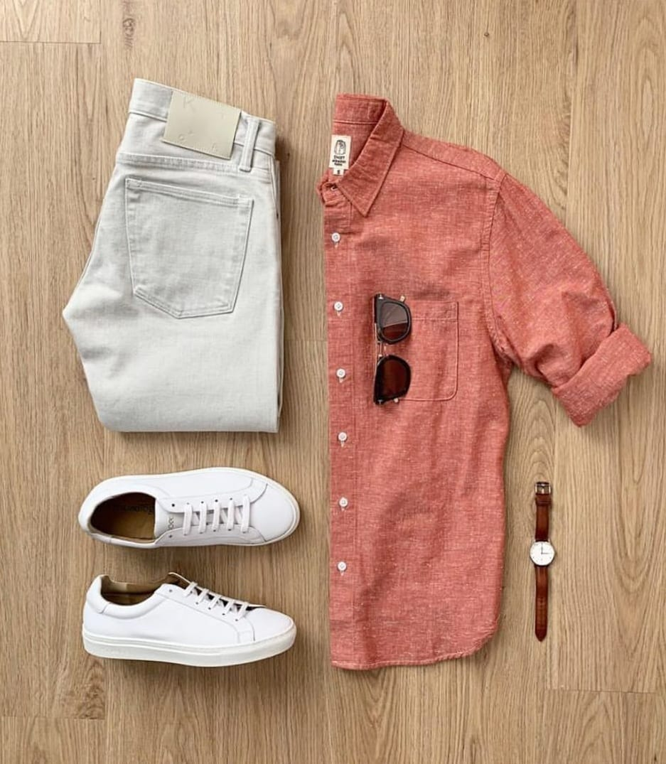 Best Summer Outfits Grid for Men