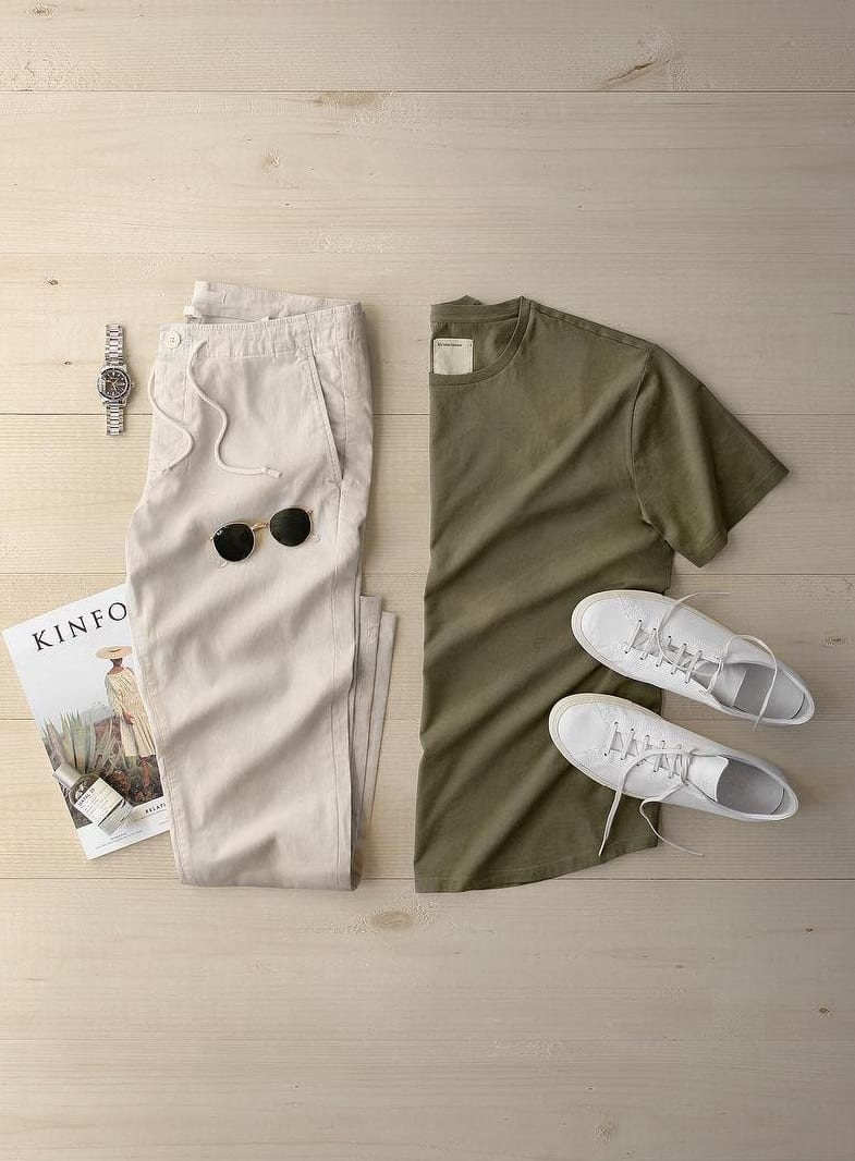 Cool Summer Outfit Grids for Men