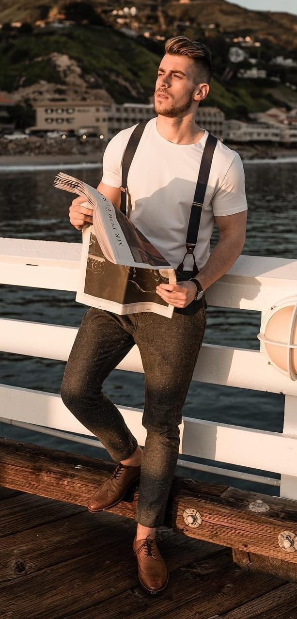 10 Suspender Outfits for Men