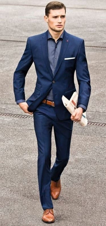 Brown Shoes-Brown Belts-Ideas