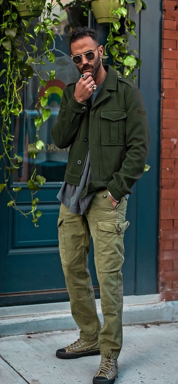 Cargo Pants Style Trend for Men