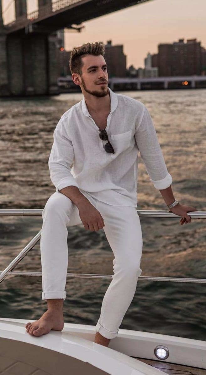 Linen Outfit Ideas for Men 2020