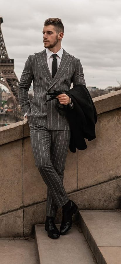 10 Dapper Grey Suit Outfits