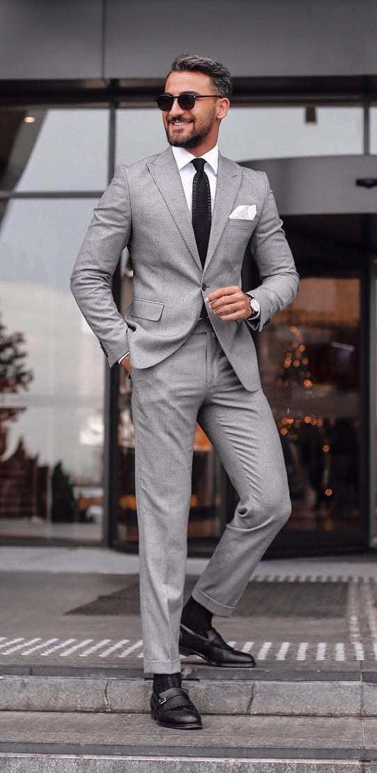 10 Dapper Grey Suits You'll Fall in Love With