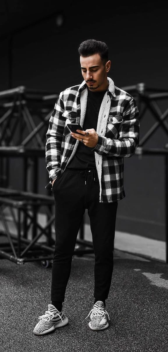 10 Stylish Ways to Wear A Plaid Jacket