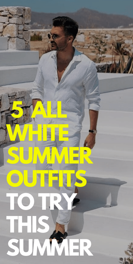 5 All White Outfit Ideas to try this summer