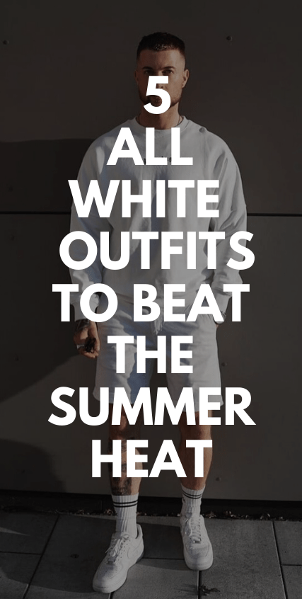 5 all white outfit to beat the heat