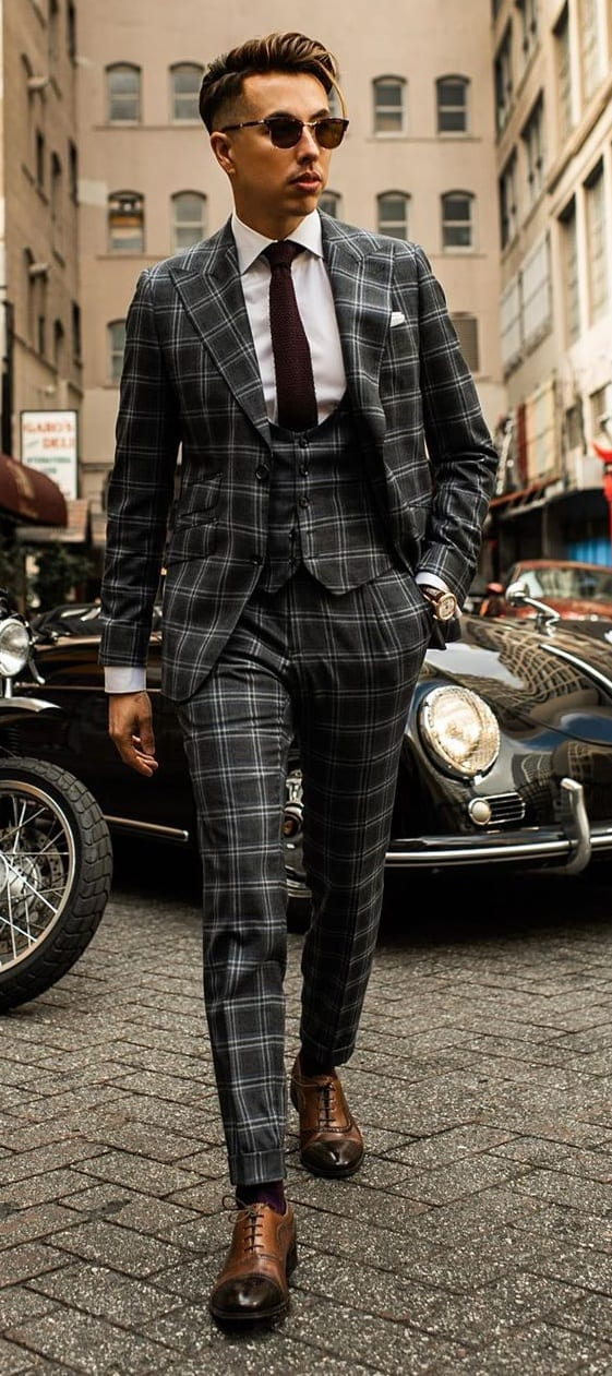 Grey Suit Ideas for Men