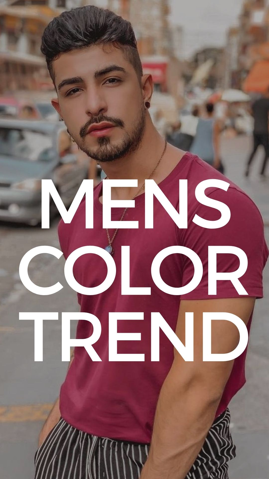 Color Trends for Men