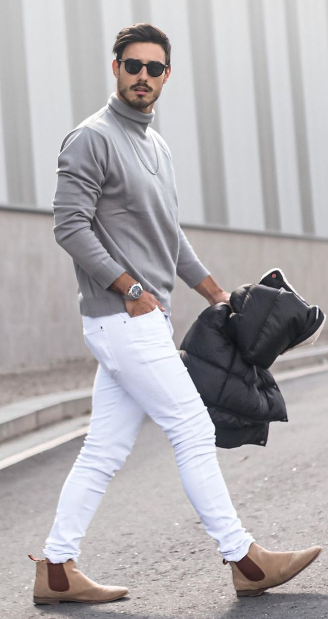 10 Dope Ways to Grey Outfit
