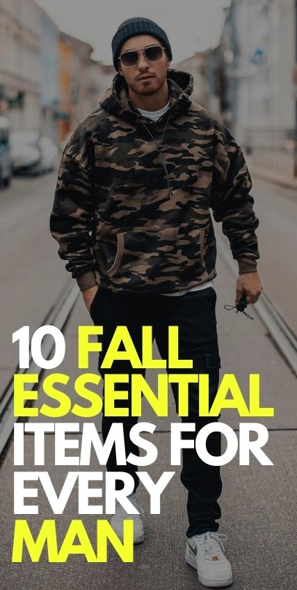 10 Fall Essential Items for Men