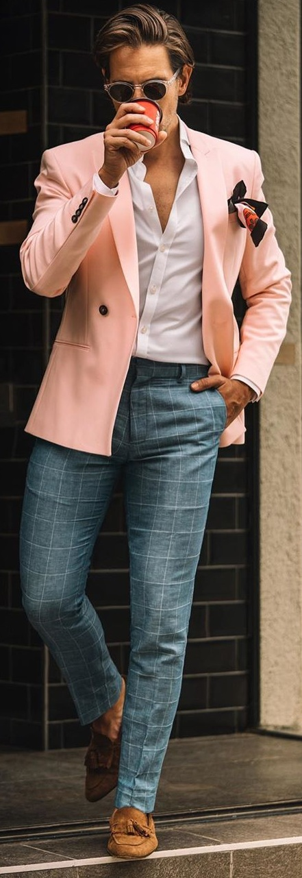 10 Stunning Casual Blazers for Men