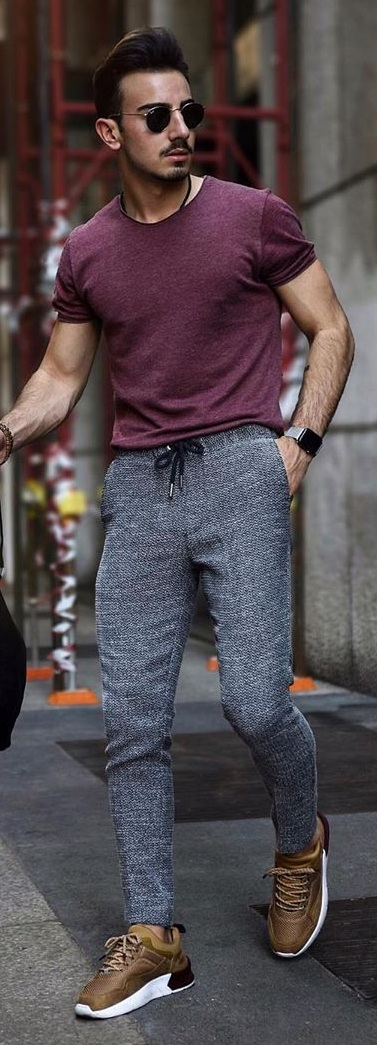 5 Downstring Trouser Outfit Ideas for Men