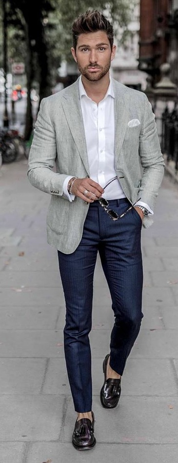 Casual Blazer Outfit Ideas 2020