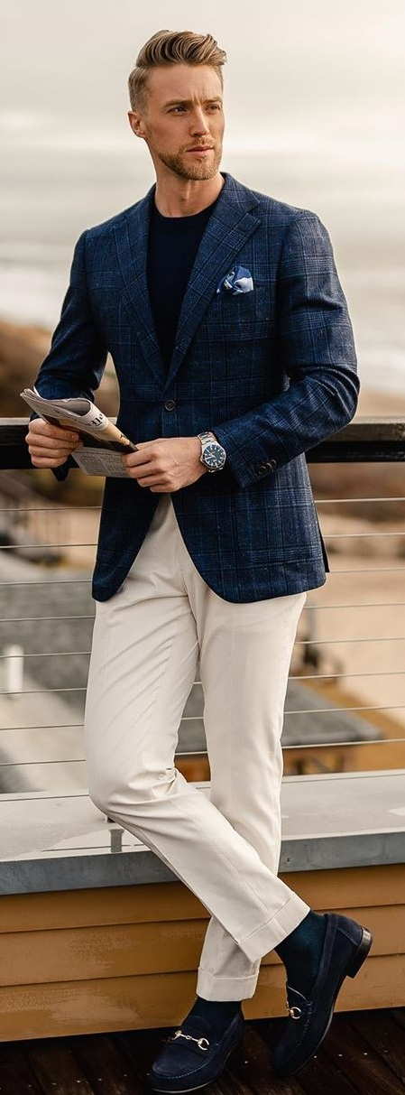 Casual Blazer Outfits for Men To Try Now