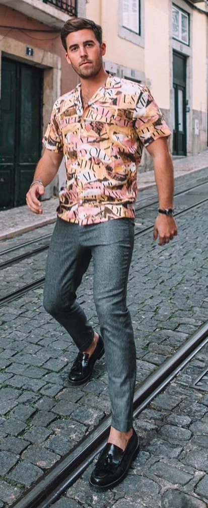 Printed Shirts Outfit To Try in 2021