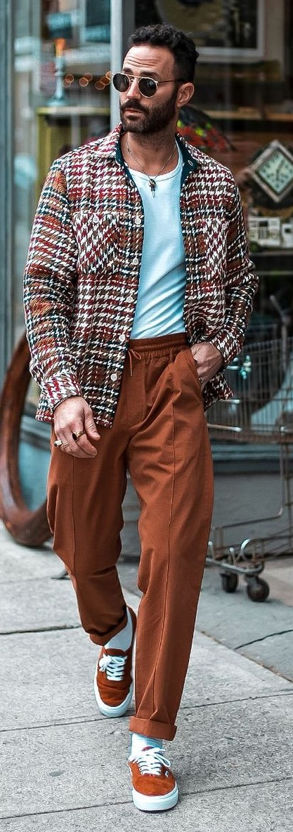 Shacket Outfit Ideas for Men