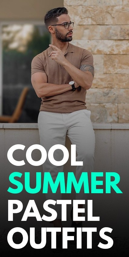 Cool Summer Pastel Outfits-
