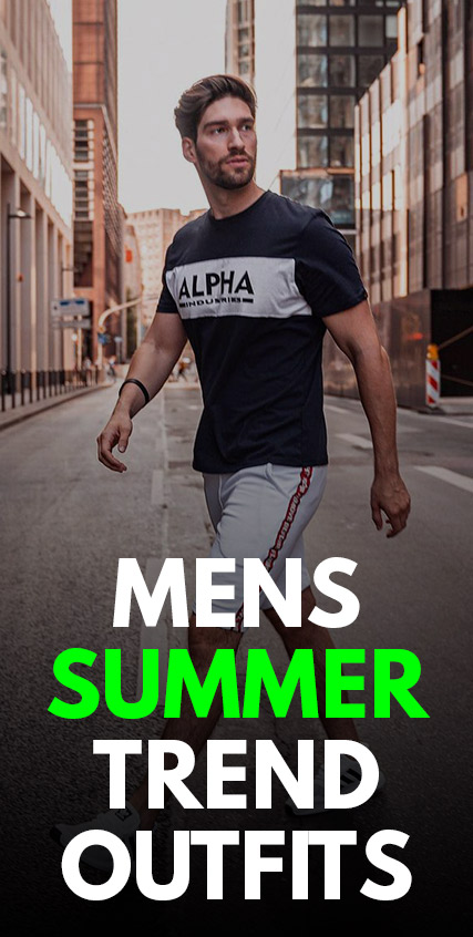 Mens Summer Outfit Trends