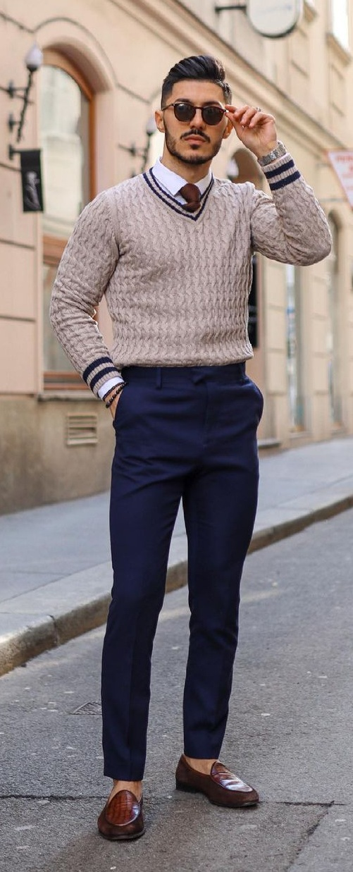 Smart Casual Interview Outfits for Men