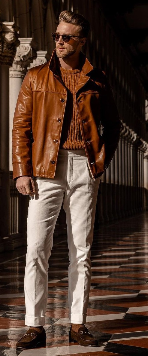 Brown Outfit Ideas for Men