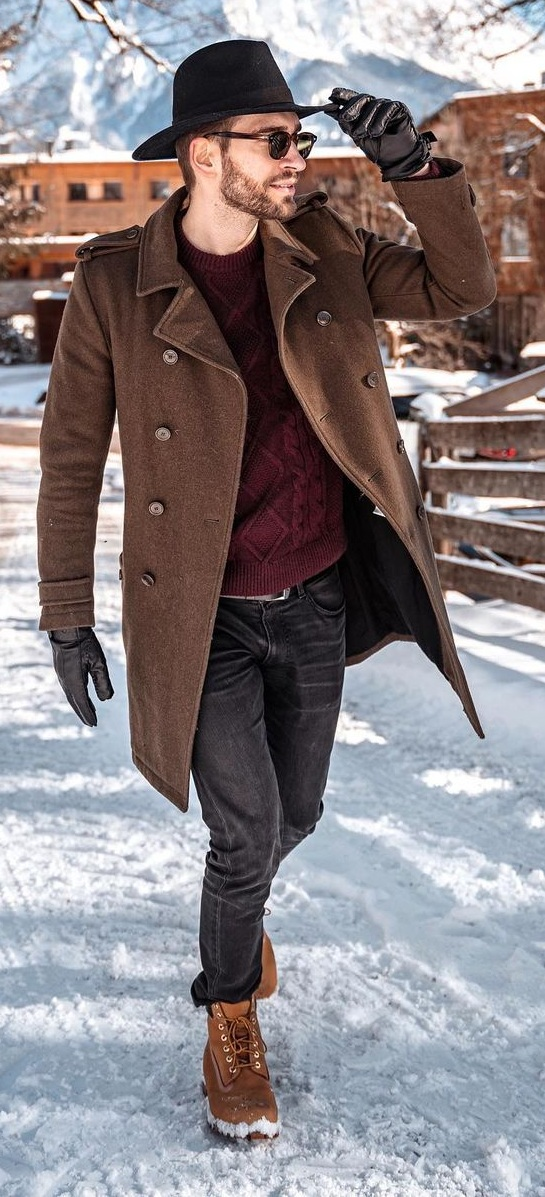 Coat- Sweater-Denims-Boots-Look-For-Winter