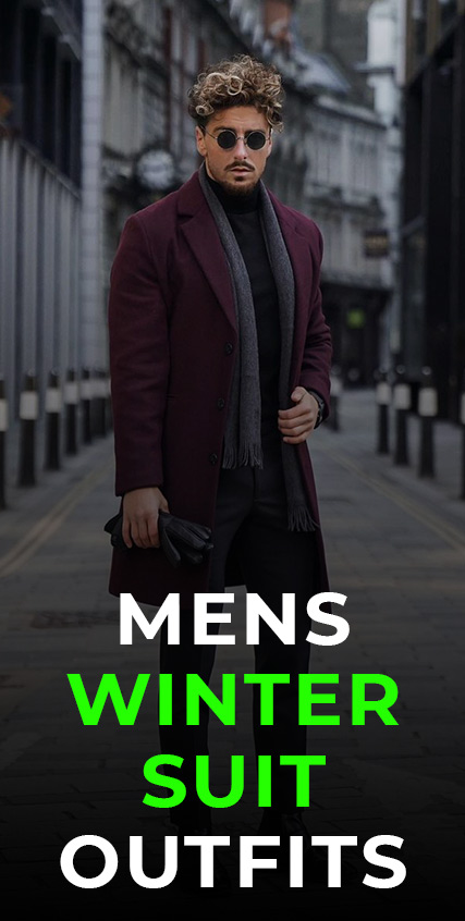 Mens Winter Suit Outfits