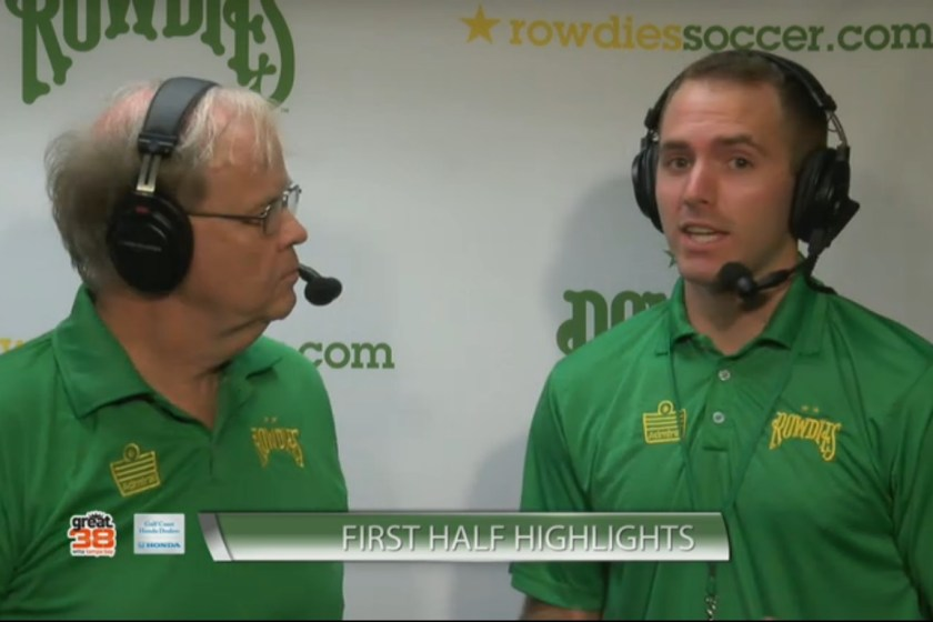 Interview With Rowdies Broadcaster Trevor DeGroot