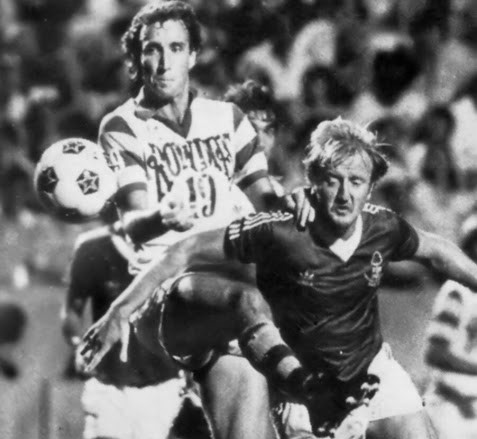 Rowdies Flashback: Perry Van der Beck on Facing Euoropean Champs Nottingham Forest in 1980