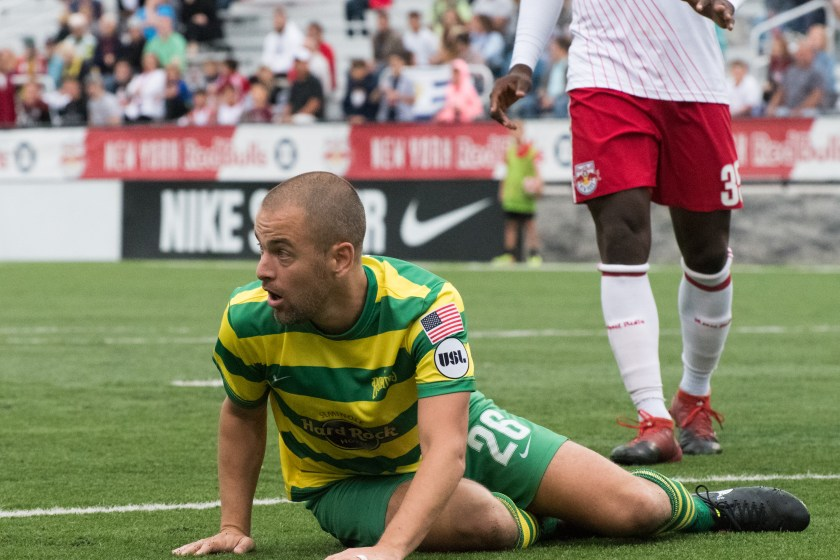 Rowdies Open Road Trip with 4-2 Loss to New York