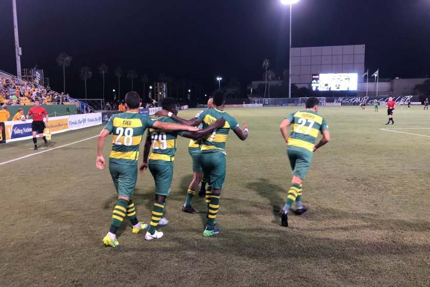 Flemmings Shines for Rowdies in 3-1 Win over Indy
