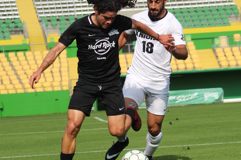 Tejada Excited to Start Professional Career with Rowdies