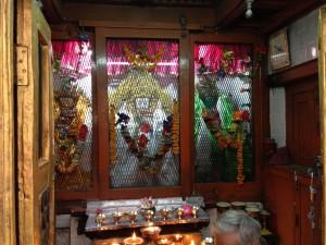 """""""Drolam Nam Sum"""" Tara Shrine between Indra Chowk and Thahiti chowk Kathmandu"""