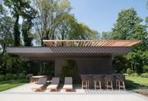 Modern Pool House Cabana