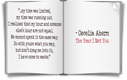 The year I met you quote