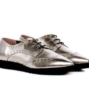 the5thelement metallic oxfords