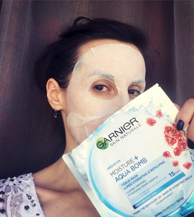 masca rehidratare Garnier review theurbandiva style blog