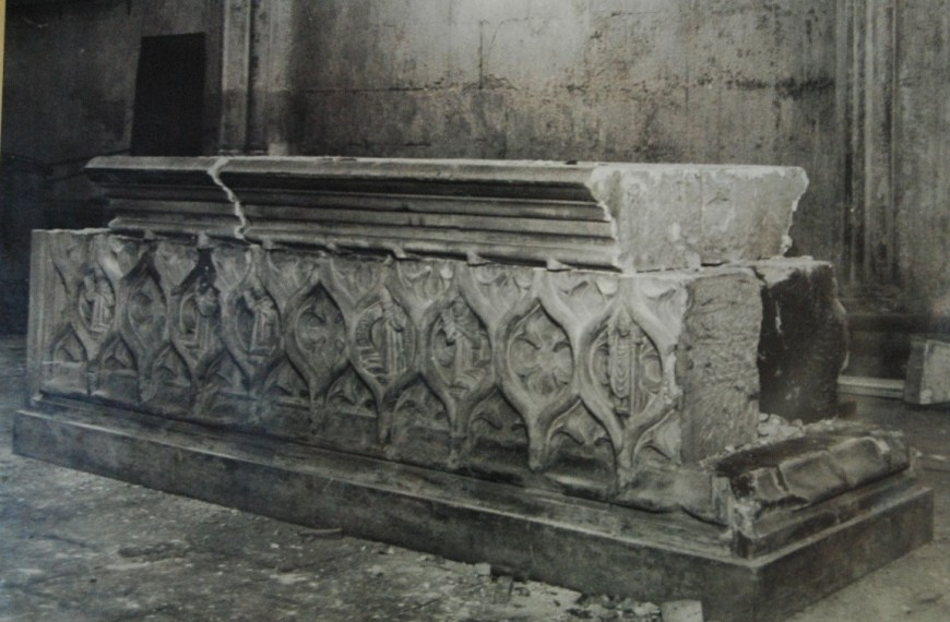 "The ""Tomb"" of Marjory Bruce"