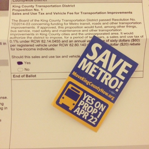 Save Metro, Vote Yes