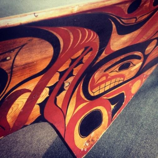 Salish Canoe