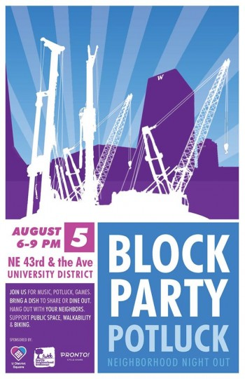 U Distrct Block Party