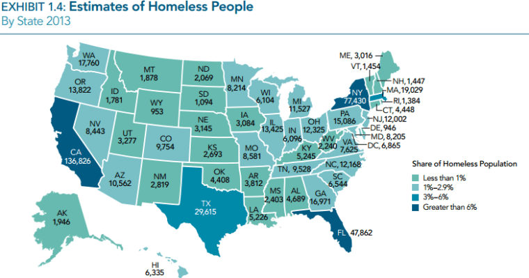 Seattle King County 3rd Largest Homeless Population In