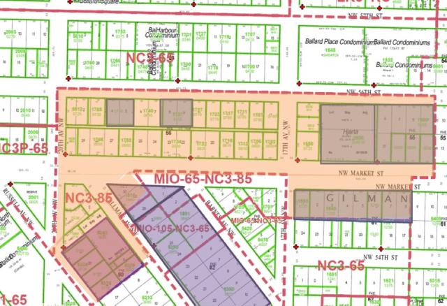 Ballard zoning map.