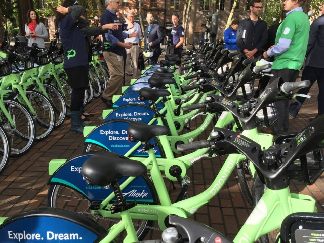 Pronto Cycle Share in Occidental Park
