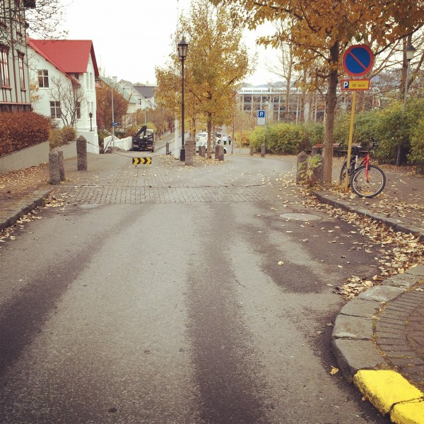 Chicane in Reykjavik