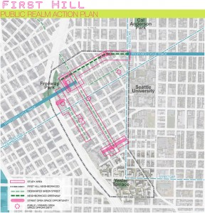 First Hill Public Real Action Plan Area