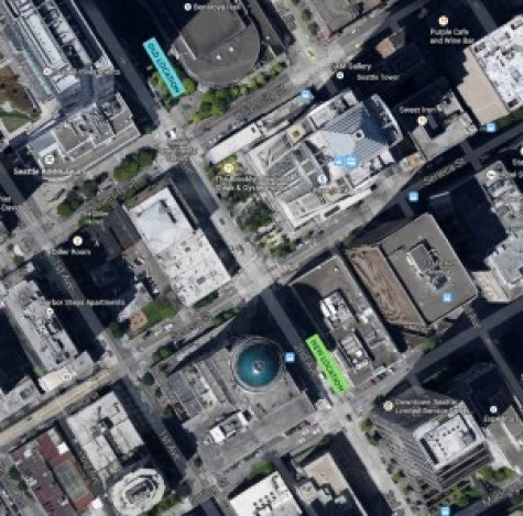 pronto station relocation on 2nd downtown