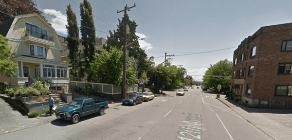 Lowrise housing in Capitol Hill via Google Streeview.
