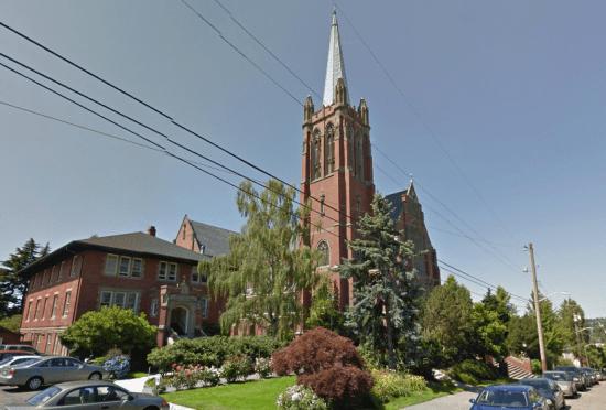 Blessed Sacrament Church. (Google Streetview)